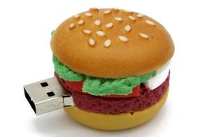 buy cheese burger usb flas memory disk